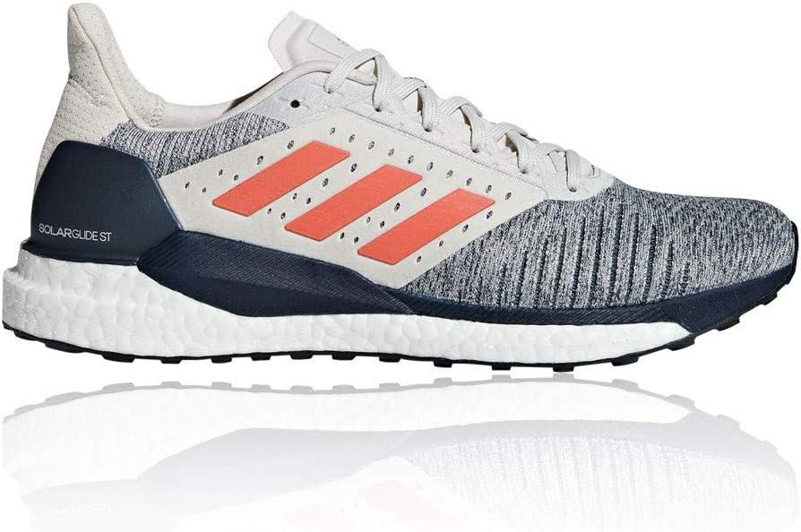 adidas Solar Glide St Stabilitätsschuh Herren-Weiß, Blau, Zapatillas de Running Zapato de Estabilidad para Hombre: Amazon.es: Zapatos y complementos