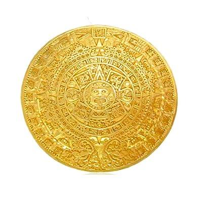 Amazon com: Across The Puddle Aztec Solar Calendar 2