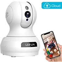 Baby Monitor, Lefun Wireless IP Security Camera Nanny Cam with Cloud Storage Two Way Audio Pan/Tilt/Zoom Night Vision Remote Control for Home Surveillance Pet Monitoring