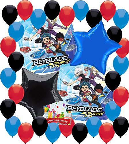 Check expert advices for beyblade burst party decorations?