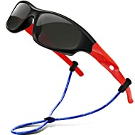 SEEKWAY Polarized Kids Sunglasses For Boys Girls Child Rubber Flexible frame Age 3+ SRK816