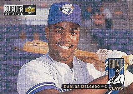 1994 Upper Deck Collectors Choice Carlos Delgado Rookie