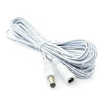Amazon.com: 16.4 Foot LED Light Strip DC Extension Cable, DC ...