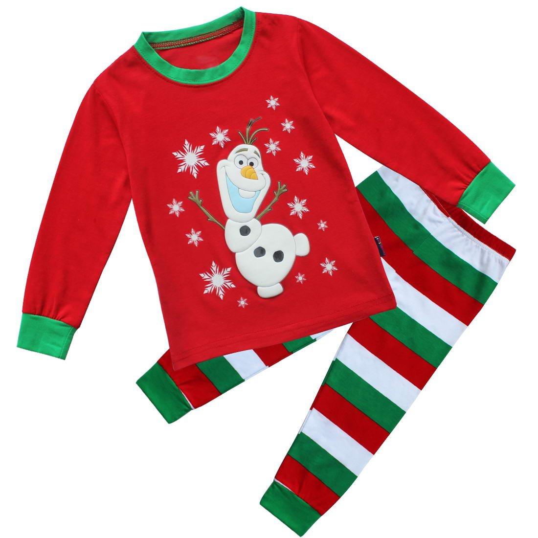 Wonful Little Kids Cute Cartoon Stitching Cotton Top Pant Sets (Set of 2 Pieces) 1-6Y