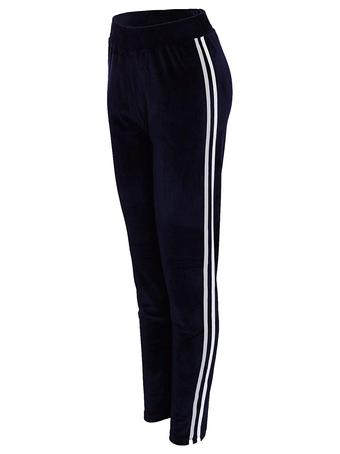 Ladies Velvet (Velore) Jogger Tracksuit Pants Active Gym Yoga Fitness Bottoms 8-16