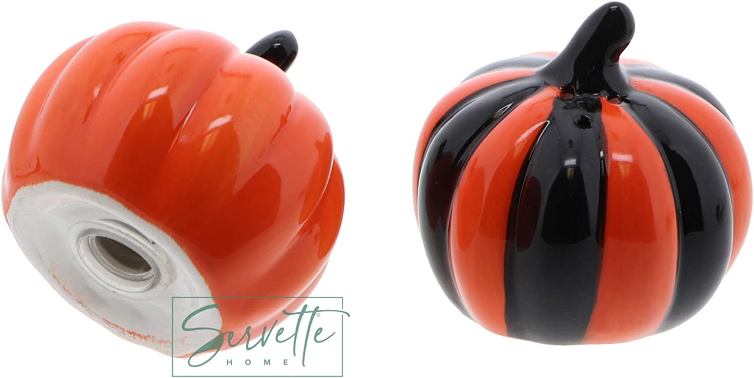 Servette Home Salt and Pepper Shakers Halloween Table Accessories Cauldrons