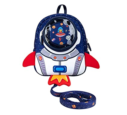 Amazon.com  JiePai Toddler Kids Backpack with Safety Harness Leash ... 9e2a2aad9d4b8