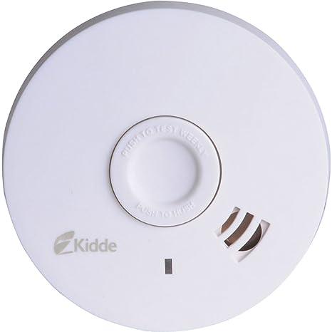 Advanced Kidde 10 años fotoeléctrico detector de humos óptico [unidades 1] con Min 3
