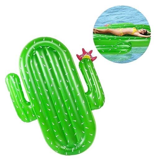 sdbcv Agua Estilismo peluca Surose Cactus cama flotante ...