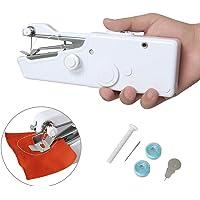 MEYUEWAL Machine à coudre portative, mini machine à coudre Outil manuel portatif sans fil professionnel - outil de point rapide pour le tissu