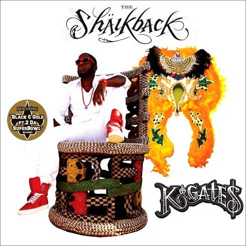 CD : K. Gates - The Shaikback (CD)