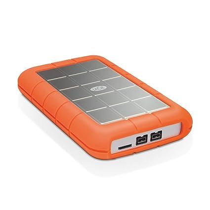 LaCie Rugged Triple - Disco Duro Externo portátil para Mac y PC, 1 TB (FireWire + USB 3.0, 2.5)