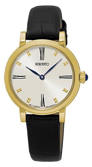 Seiko Reloj de Pulsera SFQ814P2  Amazon.es  Relojes d5e3cb64b253