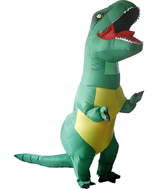 Amazon.com: Adulto T-Rex Dinosaurio Disfraz Cosplay de ...