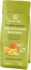 EcoScraps For Organic Gardening Citrus & Avocado Plant Food, 4 lbs