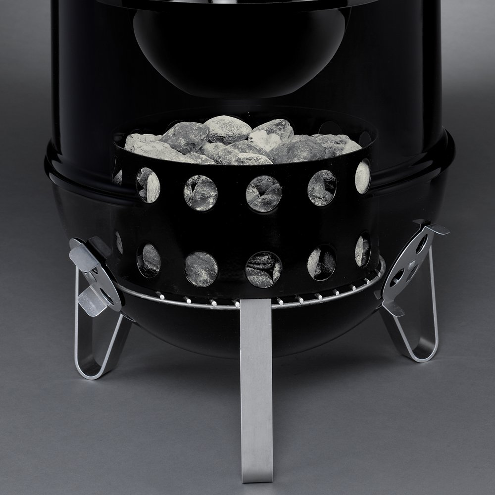 Charcoal Chamber for this Grilled Thanksgiving Camping Turkey Recipe With Instructions How To Cook Turkey While Camping