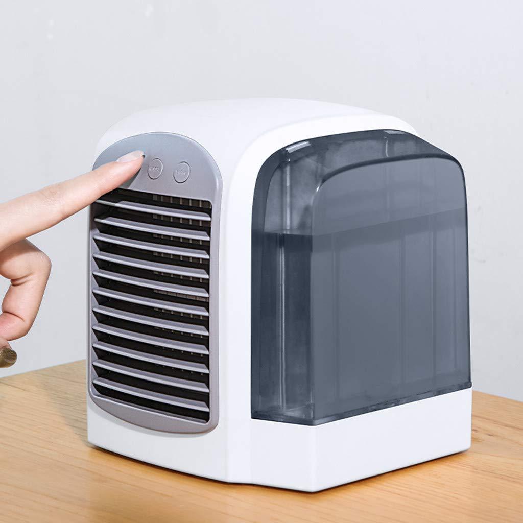 Blling Style Simple Ventilateur DEau Et De Climatisation Ventilateur Silencieux Ventilateur De Refroidissement De L/éQuipement De R/éFrig/éRation Domestique De Refroidisseur DAir Peut Ajouter De LEau