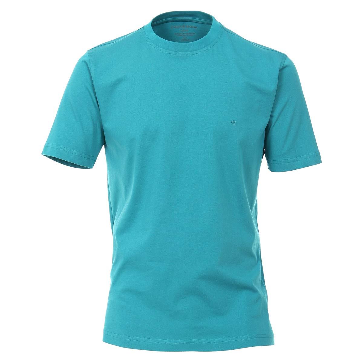 CASAMODA Basic T-Shirt T/ürkis /Übergr/ö/ße