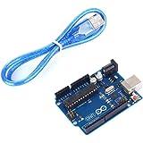 tinxi® ATMEGA16U2 Versione Uno R3 MEGA328P Board con USB cavo compatibile con Arduino