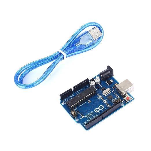 42 opinioni per tinxi® ATMEGA16U2 Versione Uno R3 MEGA328P Board con USB cavo compatibile con