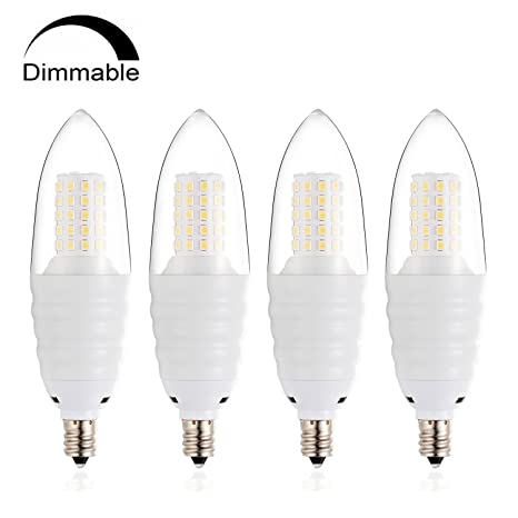eksave candelabro LED E12 LED de intensidad regulable bombilla 100 Watt equivalente bombillas de repuesto,