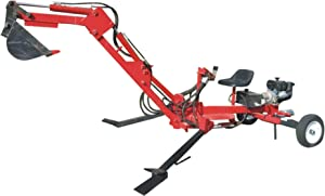 Portable Backhoe Plans DIY Track Hoe Excavator Garden Digger Build Your Own