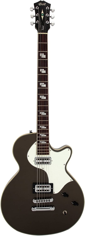Cort Sunset barítono guitarra eléctrica Mocha Bronce Pearl: Amazon ...