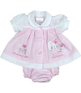 147a335ddef Amazon.com: BabyPrem Premature Baby Dress Cotton Pink Girl Preemie ...