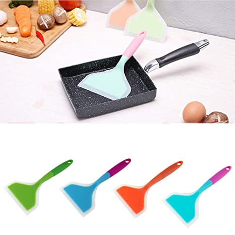 New Silicone Spatula For Cooking Baking Cake Kitchen Utensil Handle Baking DS