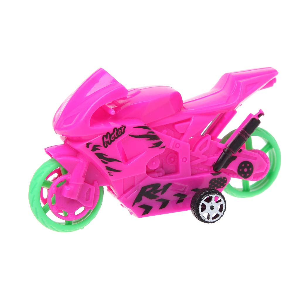 HNDHUI Creative Mini Motorcycle Model Educational Toys Motor Vehicles For Baby Kids (Blue)