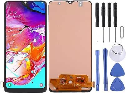 JHMJHM Pantalla LCD y digitalizador Asamblea incell Completa para Galaxy A70 Repuestos para Samsung Galaxy Celular (Color : Black): Amazon.es: Electrónica