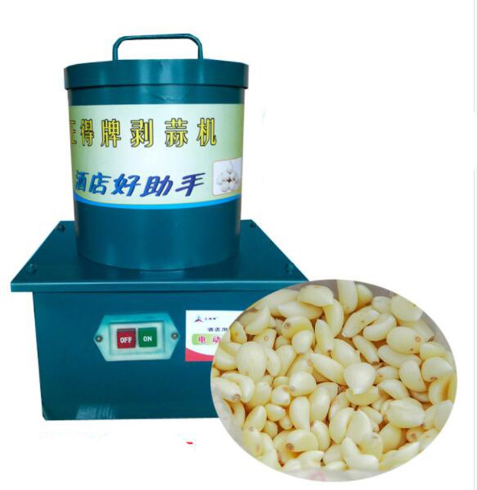 TOPCHANCES 220V Garlic Peeling Machine Electric Garlic Peeler for Household and Commercial by TOPCHANCES