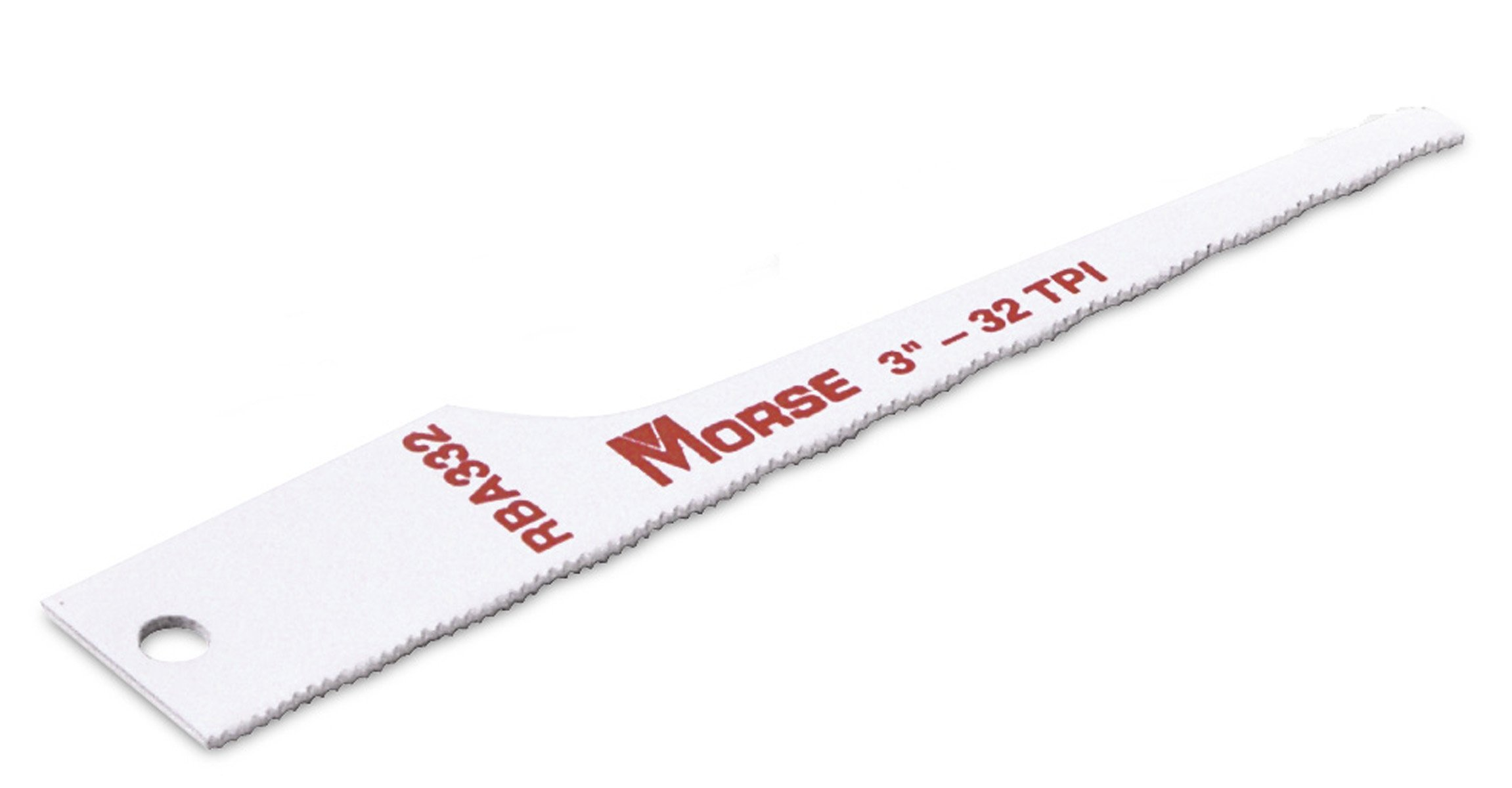 MK Morse RBA332T05 Air Saw Reciprocating Blade, 32TPI, 3-Inch, 5-Pack