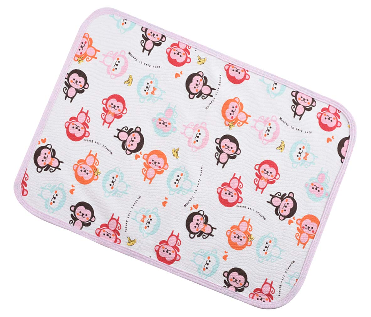 La Vogue Printed Baby Urine mat Waterproof Diaper Changing Pad Bed Wetting Pads for Infant(39.431.5in)