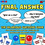 Mirror Image Games Final Answer The Hilarious Guessing Game For People Who Are Not Offended By Innuendoes And Dirty Stuff by Mirror Image Games