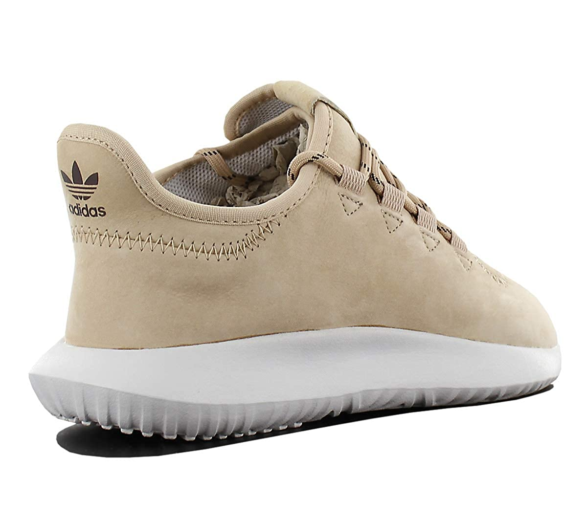 31534bfdcaaaa0 adidas Mens Originals Tubular Shadow Trainers in Cream- Premium Suede  One-Piece  Amazon.co.uk  Shoes   Bags