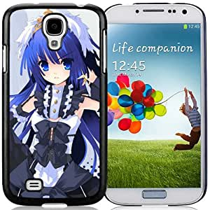 Popular And Unique Designed Cover Case For Samsung Galaxy S4 I9500 i337 M919 i545 r970 l720 With Girl Blue Eyes Rings Posture black Phone Case