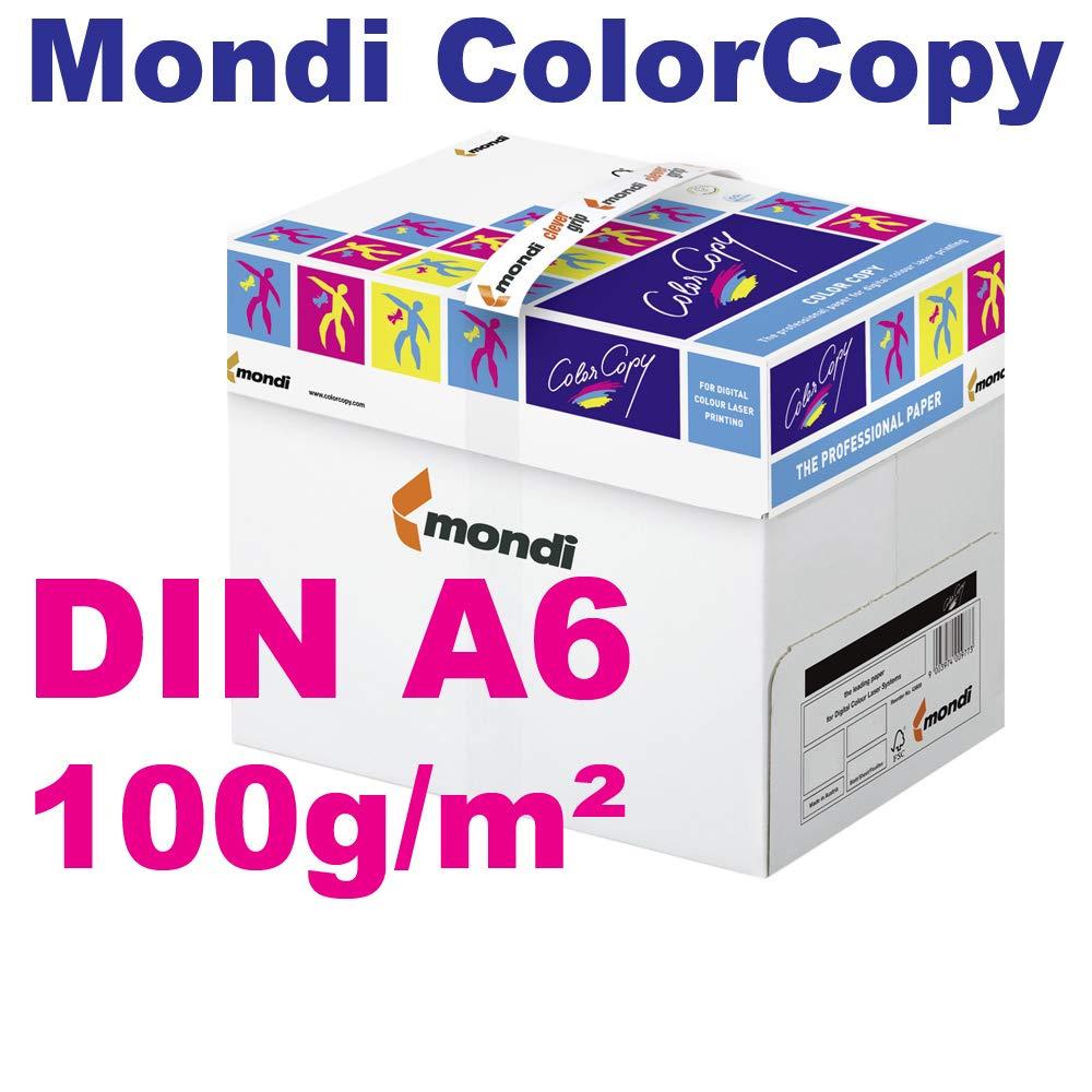 Mondi Color Copy DIN A6 papel 100 g/m², VE=100 hojas de papel ...