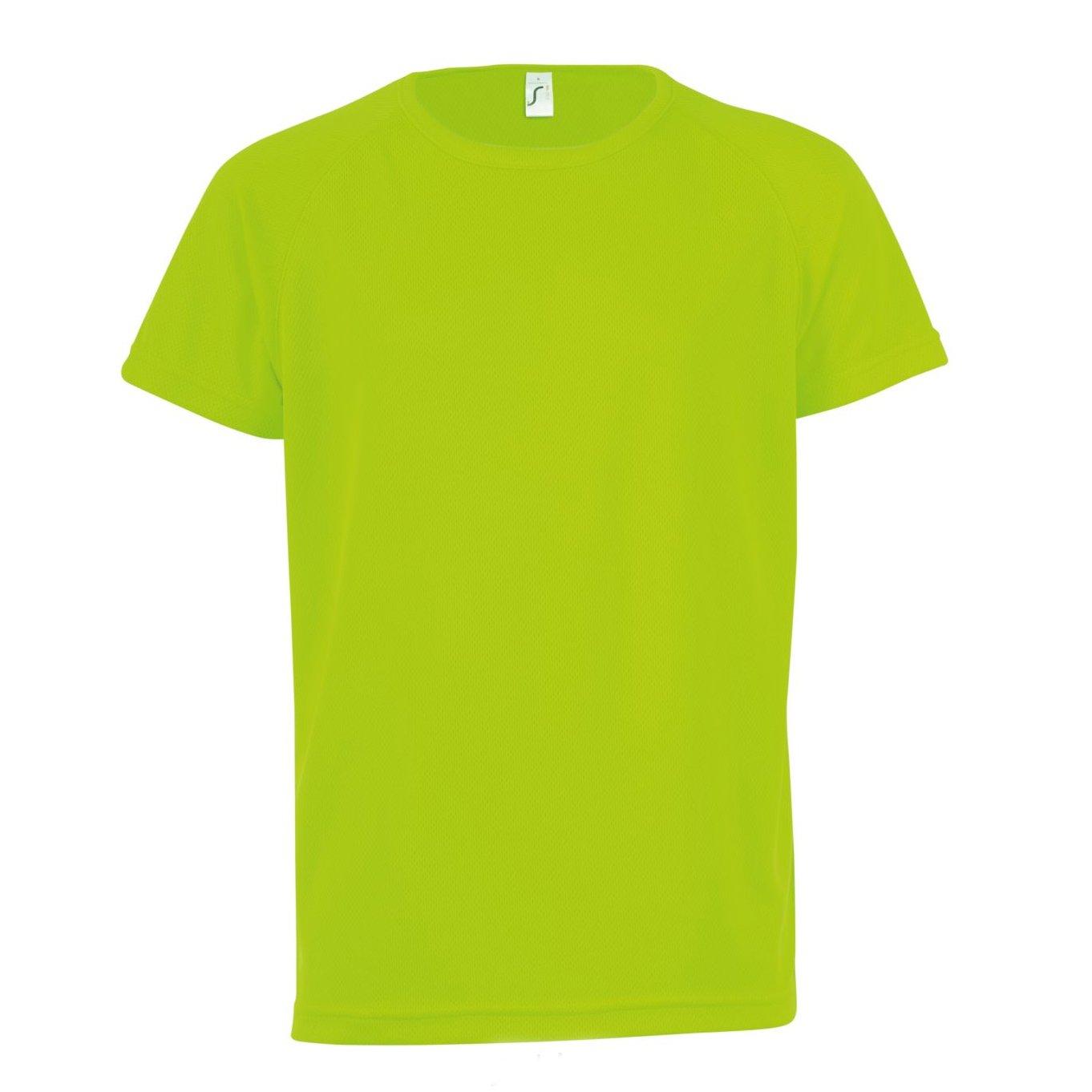 SOLS Childrens/Kids Sporty Unisex Short Sleeve T-Shirt