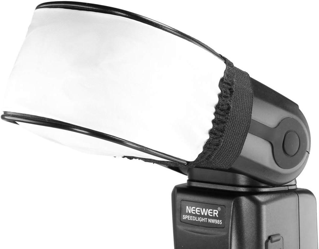 HUANGMENG Softbox Universal Mini Soft Flash Diffuser 10cm x 8.5cm x 6.5cm HUANGMENG Size