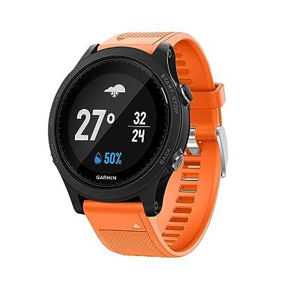 TopTen Garmin Forerunner 935 Correa de reloj de silicona, de repuesto para Garmin Forerunner 935