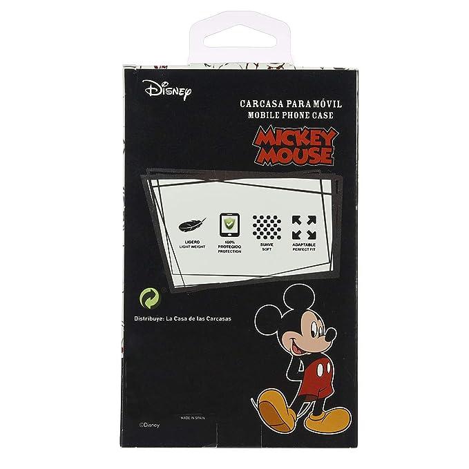 Carcasa Oficial de Disney Mickey Letras Clear para iPhone 7-8 - La Casa de Las Carcasas