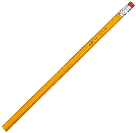 7d43ae06978b3 AmazonBasics Wood-cased Bulk Pencils - #2 HB Pencil - Box of 144