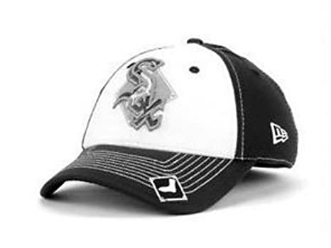 0cee5dfb399 Image Unavailable. Image not available for. Color  New Era Chicago White  Sox Flex Fit ...