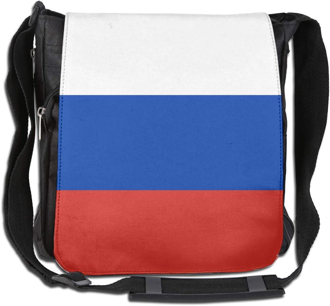 LRHUI Russia Flag Unisex Multifunction Narrow Single Shoulder Bag Diagonal Business Bag