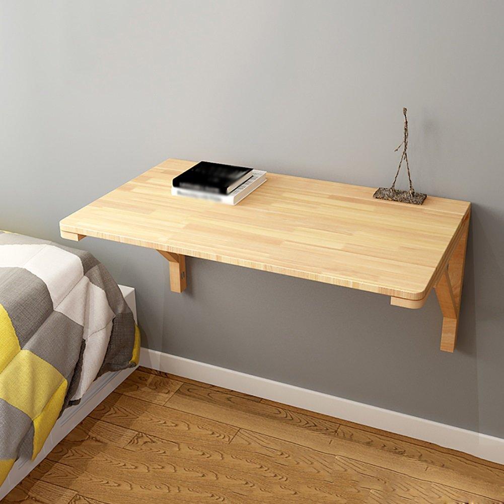 家庭用折りたたみコンピュータデスクソリッドウッドキッチン収納テーブル壁掛けダイニングテーブル創造的な子供の学習テーブル (サイズ さいず : 60*40cm) B07DP8XP25 60*40cm 60*40cm