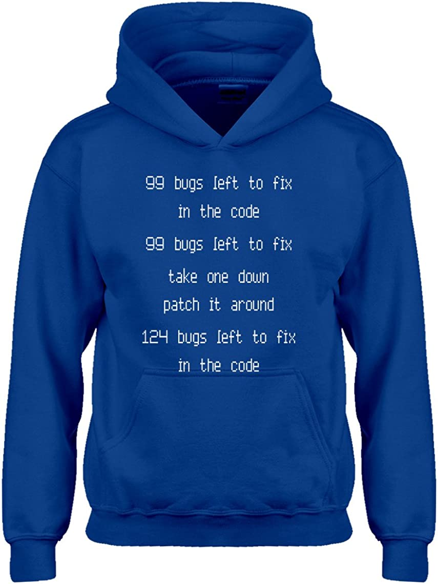 99 Bugs in The Code Hoodie for Kids