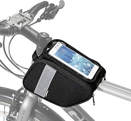 New Bicycle Front Basket Tube Pannier Frame Cycling Handlebar Bag Pack Ridding