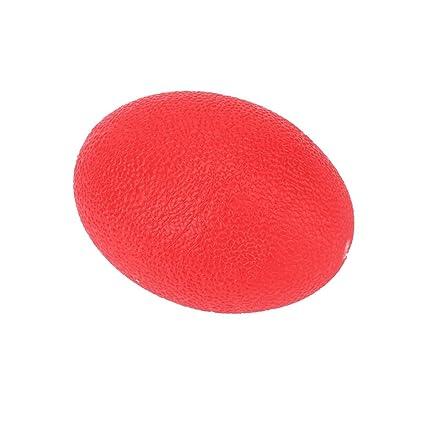 Diseño de huevos de silicona empuñadura bola Squeeze estrés pelota ...