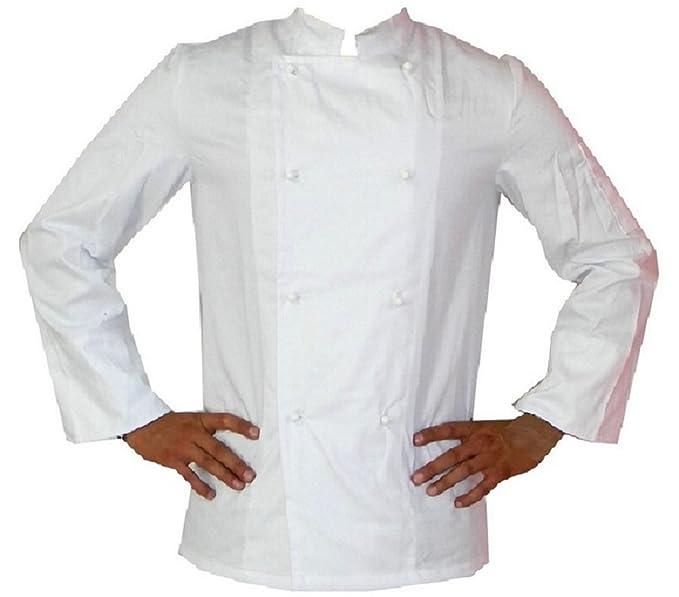 Menitashop Giacca Cuoco Chef Pizza Uomo Donna Divisa per Cucina Ristorante  Bar Pasticceria  Amazon.it  Abbigliamento c757bfc405c